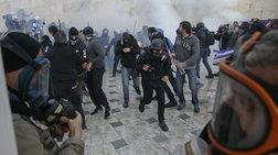 Επίθεση σε τηλεοπτικό συνεργείο της ΕΡΤ - Σοβαρός τραυματισμός εικονολήπτη