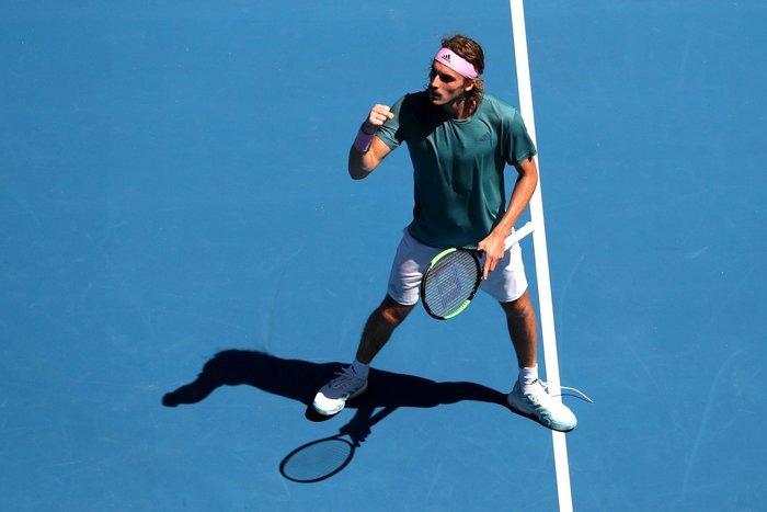 Θρίαμβος Τσιτσιπά! Πέρασε στον ημιτελικό του Australian Open (βίντεο) - εικόνα 6