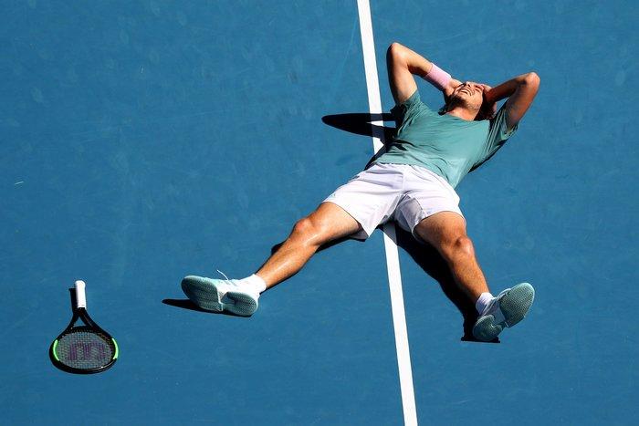 Θρίαμβος Τσιτσιπά! Πέρασε στον ημιτελικό του Australian Open (βίντεο) - εικόνα 10