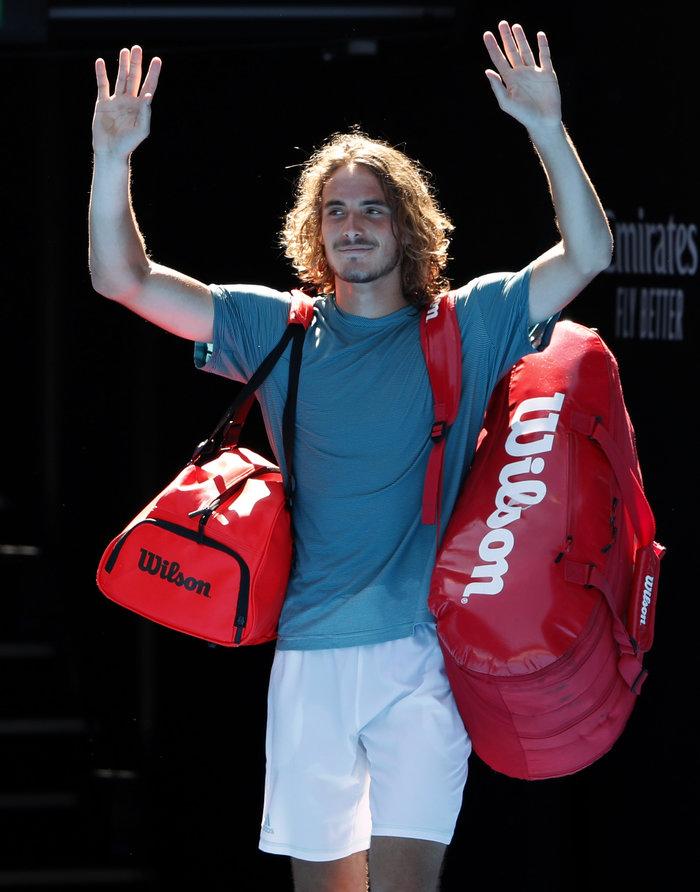 Θρίαμβος Τσιτσιπά! Πέρασε στον ημιτελικό του Australian Open (βίντεο) - εικόνα 3