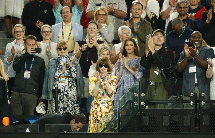 Άννα Γουίντουρ: Με απαράμιλλο στιλ για πρώτη φορά στο Australian Open - εικόνα 4
