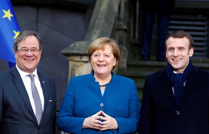 Τι σημαίνει για την Ευρώπη η Συνθήκη του Άαχεν που υπέγραψαν Μέρκελ-Μακρόν