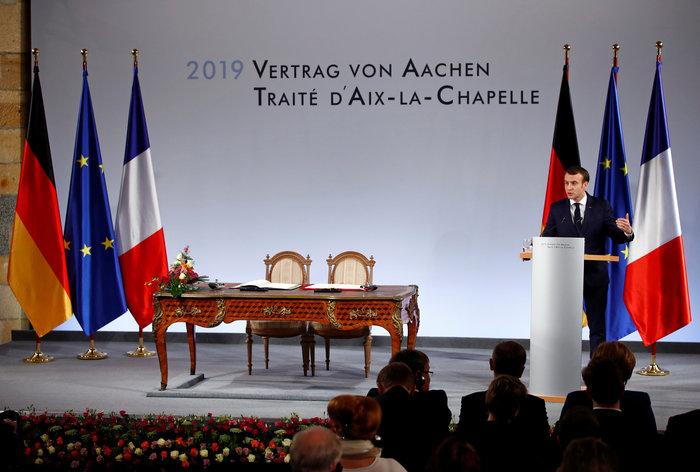 Τι σημαίνει για την Ευρώπη η Συνθήκη του Άαχεν που υπέγραψαν Μέρκελ-Μακρόν - εικόνα 4