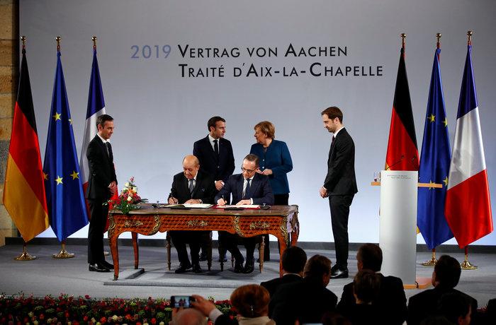 Τι σημαίνει για την Ευρώπη η Συνθήκη του Άαχεν που υπέγραψαν Μέρκελ-Μακρόν - εικόνα 6