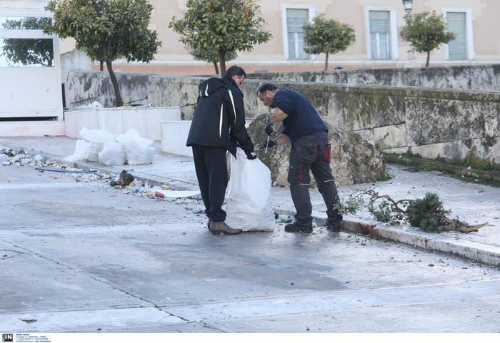 Έκθεση Φρούραρχου: 86 σακούλες «πολεμοφόδια» κατά της Βουλής