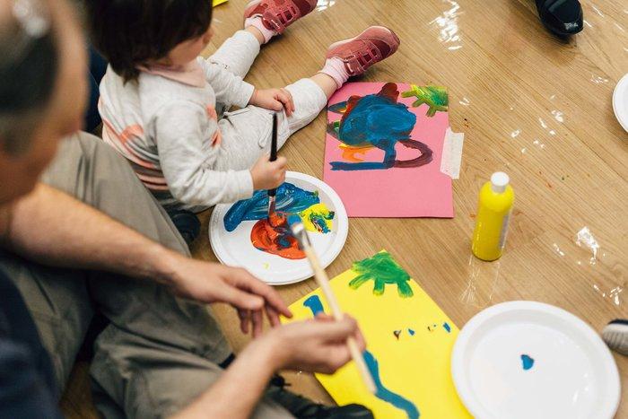 Μ. Κυκλαδικής Τέχνης: Σαββατοκύριακα Φεβρουαρίου, Σαββατοκύριακα παιδιών