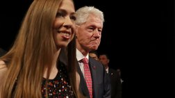 Για τρίτη φορά παππούς ο Μπίλ Κλίντον- Έγκυος η Τσέλσι