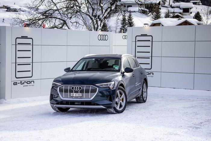 Ποιοι «κόβουν βόλτες» στο Davos με Audi e-tron - εικόνα 2