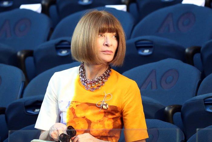Αννα Γουίντουρ: Η πιο ισχυρή γυναίκα της μόδας θαυμάζει τον Τσιτσιπά - εικόνα 3