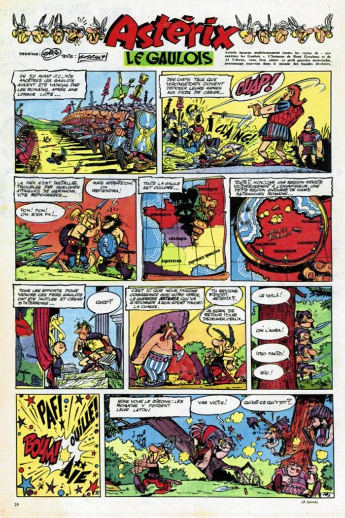 """""""Αστερίξ ο Γαλάτης"""": Το πρώτο τεύχος του διάσημου κόμικ επανεκδίδεται - εικόνα 2"""