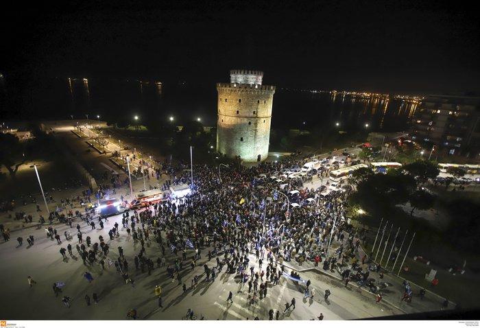 Προσαγωγές και συλλήψεις στην Αθήνα - Μολότοφ στη Θεσσαλονίκη - εικόνα 7