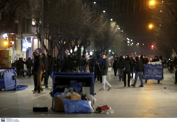 Προσαγωγές και συλλήψεις στην Αθήνα - Μολότοφ στη Θεσσαλονίκη - εικόνα 5