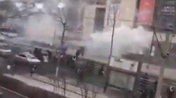 Ισχυρή έκρηξη σε εμπορικό κέντρο στην Κίνα (βίντεο)