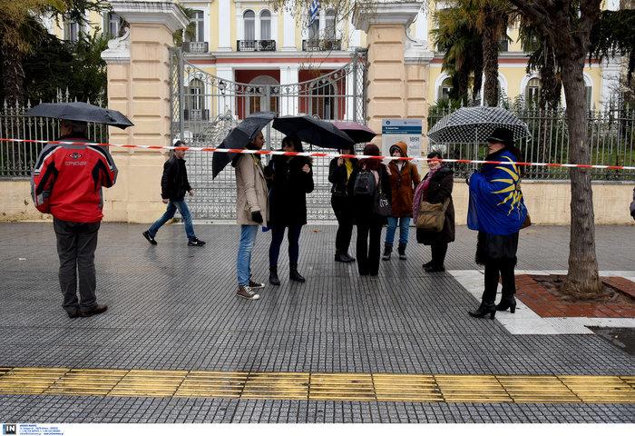 Μοίρασαν κηδειόχαρτα για τη Μακεδονία στη Θεσσαλονίκη [Εικόνες] - εικόνα 3