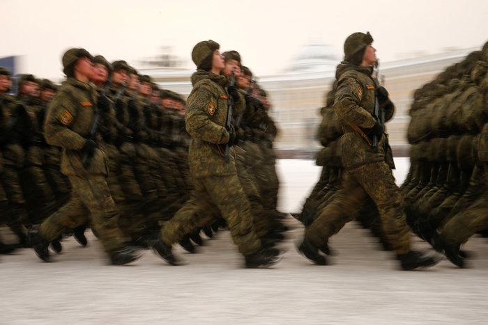 75 χρόνια από το τέλος της πολιορκίας του Λένινγκραντ- Η μεγάλη παρέλαση - εικόνα 2