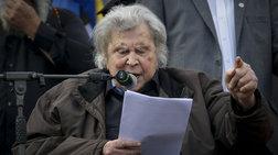 Μίκης Θεοδωράκης: «Η κυβέρνηση είναι τυφλό όργανο του ΝΑΤΟ»