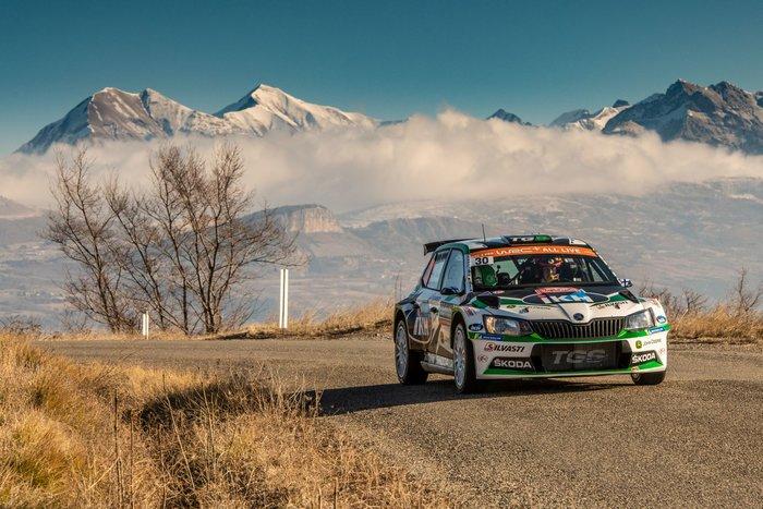 Η SKODA Fabia R5 στη 2η θέση της WRC 2 Pro στο Μόντε Κάρλο - εικόνα 2