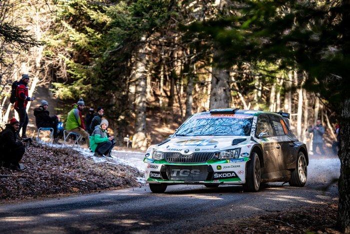 Η SKODA Fabia R5 στη 2η θέση της WRC 2 Pro στο Μόντε Κάρλο - εικόνα 3