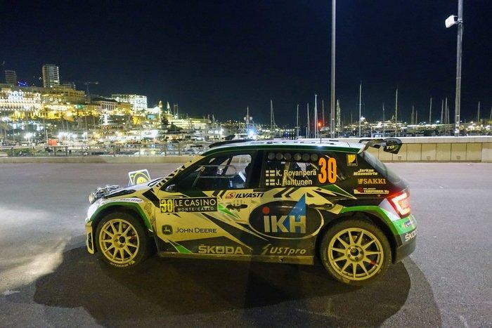 Η SKODA Fabia R5 στη 2η θέση της WRC 2 Pro στο Μόντε Κάρλο - εικόνα 5