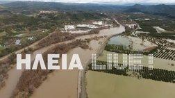 Σε κατάσταση έκτακτης ανάγκης 12 χωριά στην Ηλεία