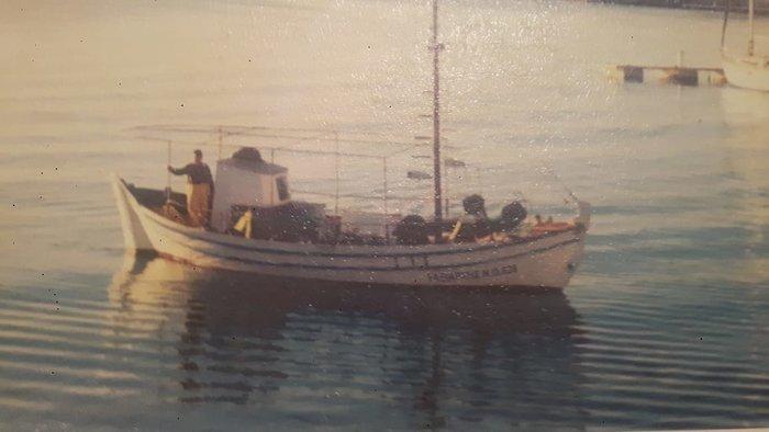 """Το παράπονο του κυρ-Αντώνη για τον """"Ταξιάρχη"""" το αλιευτικό του (φωτό)"""