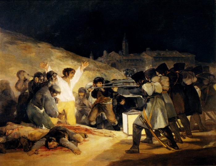 H Eκτέλεση των επαναστατών τη 3ης Μαΐου 1808/ Φρανσίσκο Γκόγια