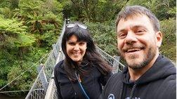Ευτύχης Μπλέτσας: Η πρόταση γάμου στην Ηλέκτρα στην κορυφή των Άλπεων
