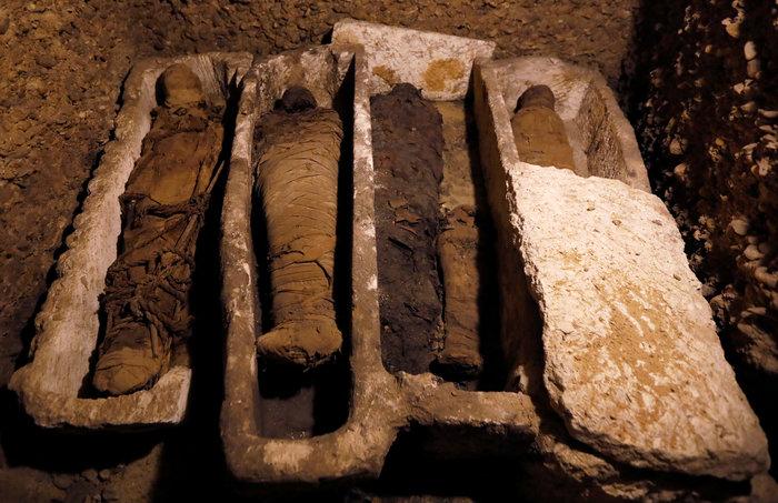 Μούμιες άνω των 2.000 ετών ανακαλύφθηκαν στην Αίγυπτο [φωτό]
