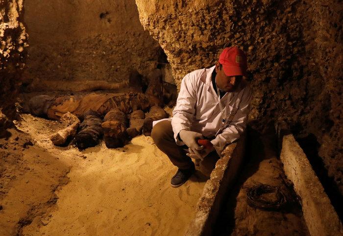 Μούμιες άνω των 2.000 ετών ανακαλύφθηκαν στην Αίγυπτο [φωτό] - εικόνα 3