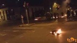 Θεσσαλονίκη: Επίθεση με μολότοφ κοντά στο τουρκικό προξενείο