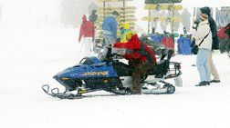 Κλειστό το χιονοδρομικό Φαλακρού λόγω μεγάλου όγκου χιονιού