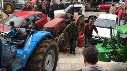 Μεσσηνία: Οι αγρότες πήγαν σανό στα γραφεία του ΣΥΡΙΖΑ (VIDEO)