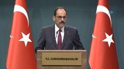 Εκπρόσωπος Ερντογάν: «Δεν θα δεχθούμε τετελεσμένα στο Ανατολικό Αιγαίο»