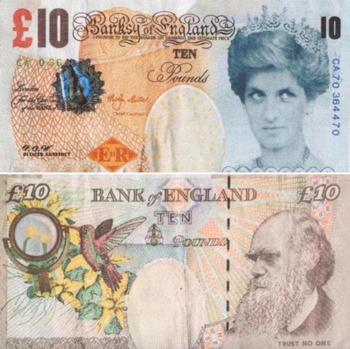 Βρετανία: Νέο χαρτονόμισμα δέκα λιρών με την Νταϊάνα - εικόνα 2