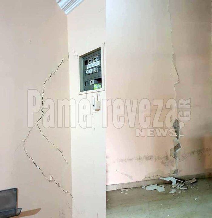Μικρές ζημιές από τα 5,2 Ρίχτερ στην Πρέβεζα - εικόνα 2