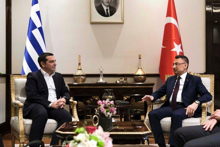 Άγκυρα: Ολοκληρώθηκε η συνάντηση Τσίπρα-Ερντογάν στο Προεδρικό Μέγαρο - εικόνα 7