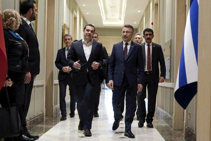 Άγκυρα: Ολοκληρώθηκε η συνάντηση Τσίπρα-Ερντογάν στο Προεδρικό Μέγαρο - εικόνα 6