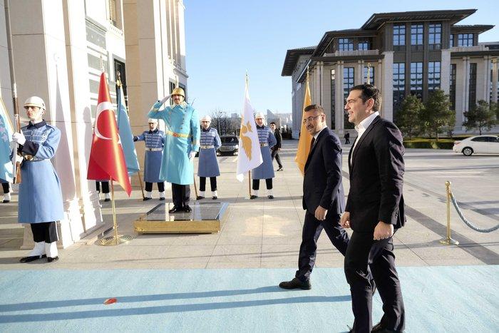 Άγκυρα: Ολοκληρώθηκε η συνάντηση Τσίπρα-Ερντογάν στο Προεδρικό Μέγαρο - εικόνα 5