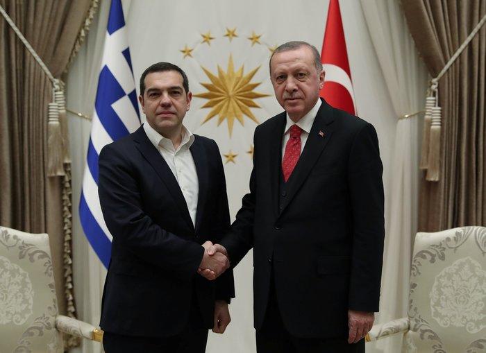 Άγκυρα: Ολοκληρώθηκε η συνάντηση Τσίπρα-Ερντογάν στο Προεδρικό Μέγαρο - εικόνα 3