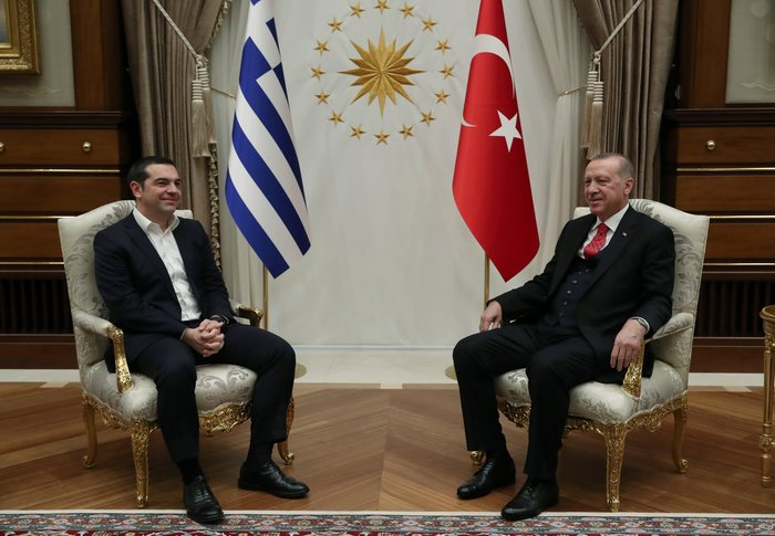 Άγκυρα: Ολοκληρώθηκε η συνάντηση Τσίπρα-Ερντογάν στο Προεδρικό Μέγαρο - εικόνα 4