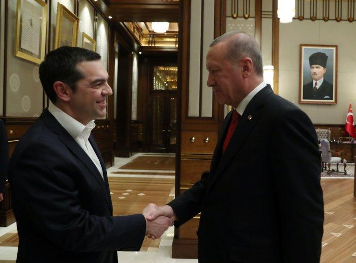 Άγκυρα: Ολοκληρώθηκε η συνάντηση Τσίπρα-Ερντογάν στο Προεδρικό Μέγαρο - εικόνα 2
