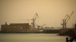 Η αφρικανική σκόνη «έπνιξε» την Κρήτη [Εικόνες]