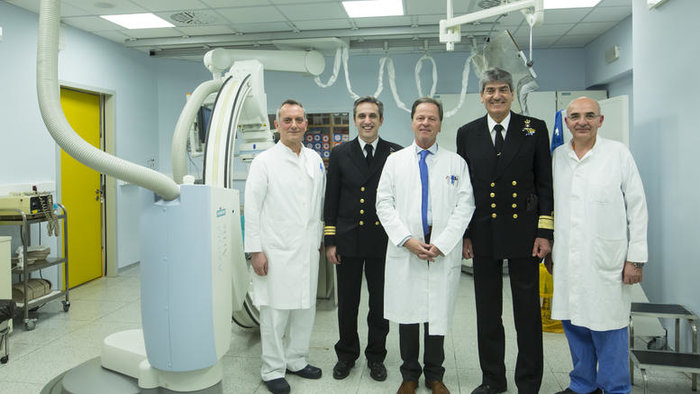 Το νέο αγγειογραφικό σύστημα (στεφανιογράφος) του Αιμοδυναμικού Τμήματος Επεμβατικής Καρδιολογίας του Γενικού Νοσοκομείου Αττικής «Σισμανόγλειο – Αμαλία Φλέμινγκ».