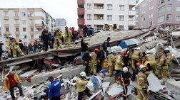 Η στιγμή της κατάρρευσης του κτιρίου στην Κωνσταντινούπολη-Vid