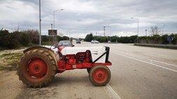 Αγρότες απέκλεισαν στο ύψος του Αιγίου το ρεύμα κυκλοφορίας προς Αθήνα
