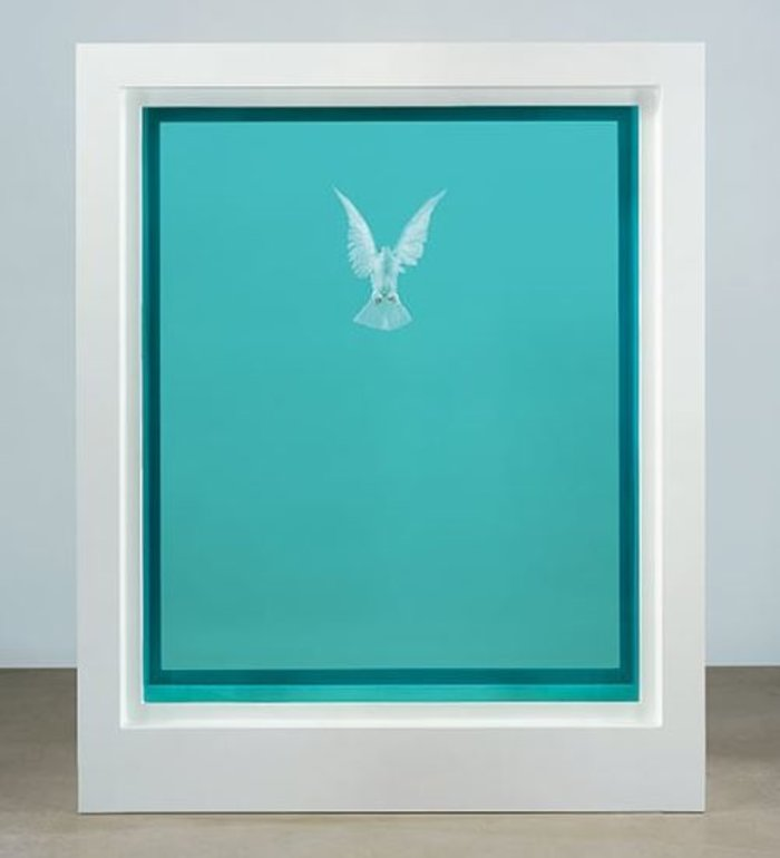 Damien Hirst, The Incomplete Truth, 2006