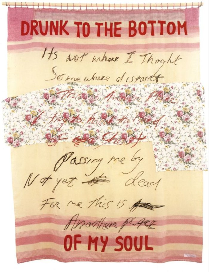Tracey Emin, Drunk to the Bottom of My Soul, 2002