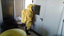 Η επιχείρηση απομάκρυνσης φακέλων με σκόνη - Φωτογραφίες