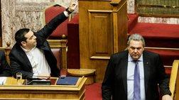 """Τσίπρας - Καμμένος: Από τις αγκαλιές στον """"ανοιχτό πόλεμο"""""""