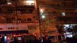 Σέρρες: Πυρκαγιά σε πολυκατοικία - Στο Νοσοκομείο 7 ένοικοι